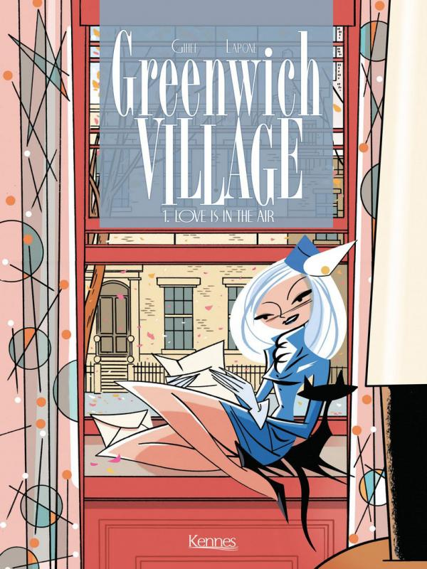 Greenwich Village T1 : Love is in the air (0), bd chez Kennes éditions de Gihef, Lapone