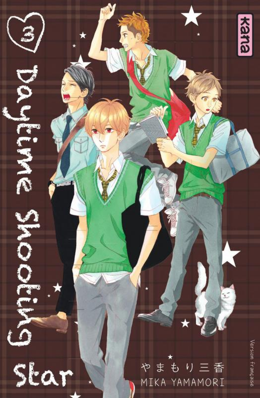 Daytime shooting star T3, manga chez Kana de Yamamori
