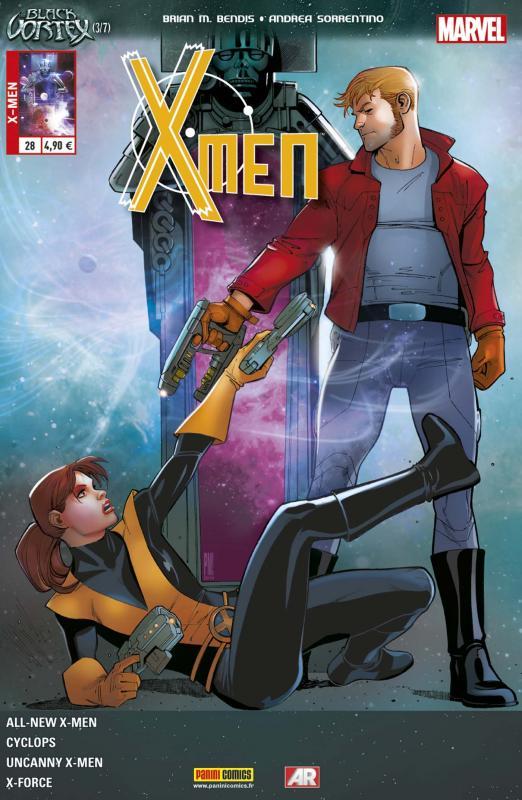 X-Men (revue) – V 4, T28 : Le Vortex Noir (3/6) (0), comics chez Panini Comics de Layman, Bendis, Spurrier, Bachalo, Garron, Huat, Kim, Sorrentino, Sotomayor, Maiolo, Beredo, Villarrubia, Medina