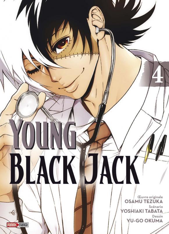 Young Black Jack T4, manga chez Panini Comics de Tabata, Tezuka, Okuma