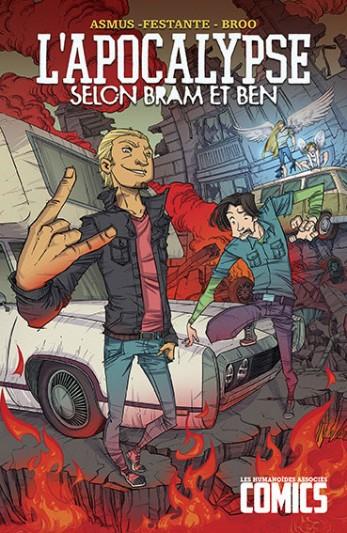 L'Apocalypse selon Bram et Ben, comics chez Les Humanoïdes Associés de Asmus, Festante, Broo, Overdrive Studios