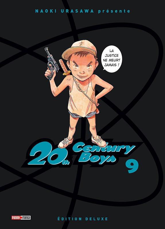 20th Century Boys – Edition deluxe, T8, manga chez Panini Comics de Urasawa