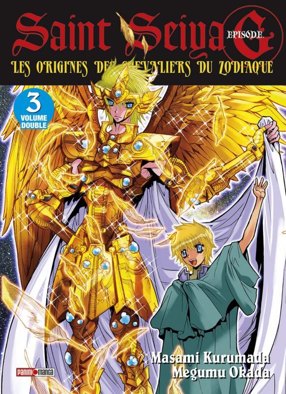 Saint Seiya - Episode G  T3, manga chez Panini Comics de Kurumada, Okada