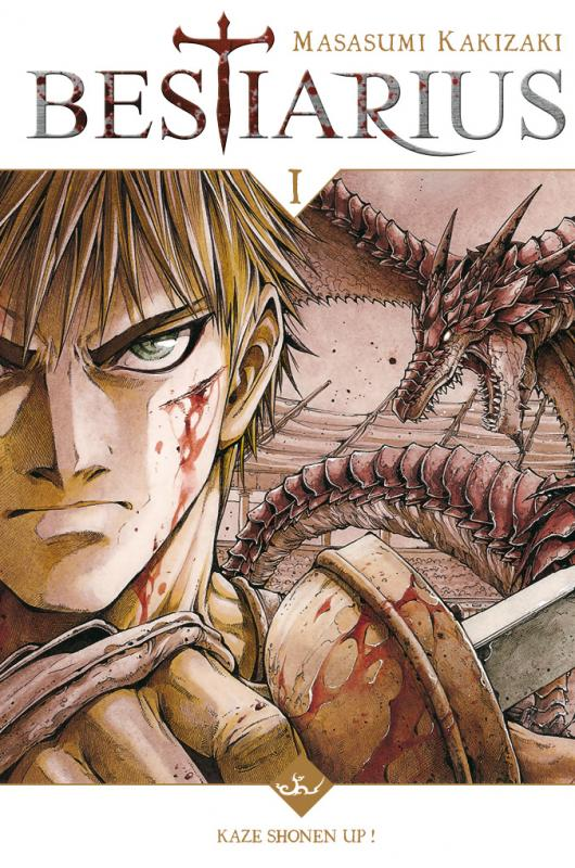 Bestiarius T1, manga chez Kazé manga de Kakizaki