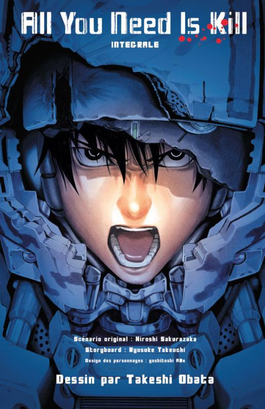 All you need is kill : , manga chez Kazé manga de Takeuchi, Sakurazaka, Abe, Obata