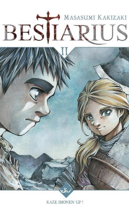 Bestiarius T2, manga chez Kazé manga de Kakizaki