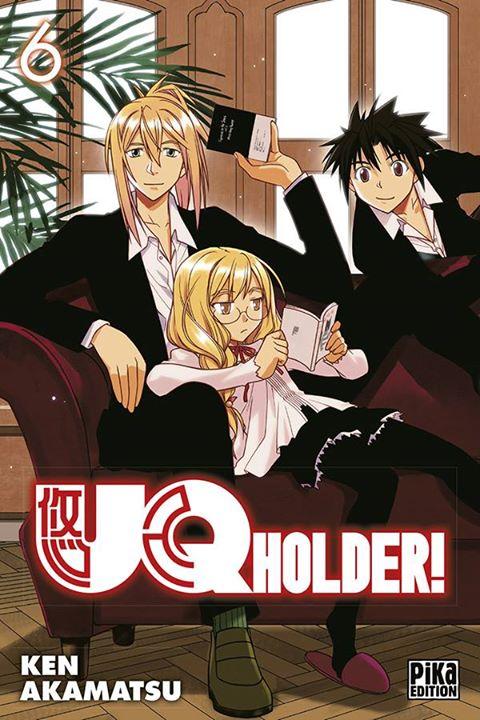 UQ Holder! T6, manga chez Pika de Akamatsu