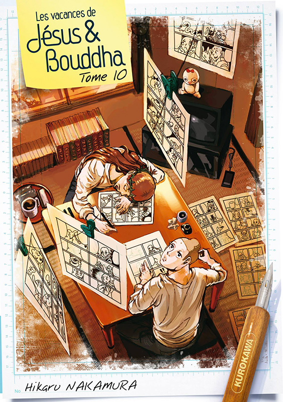 Les Vacances de Jésus et Bouddha T10, manga chez Kurokawa de Nakamura