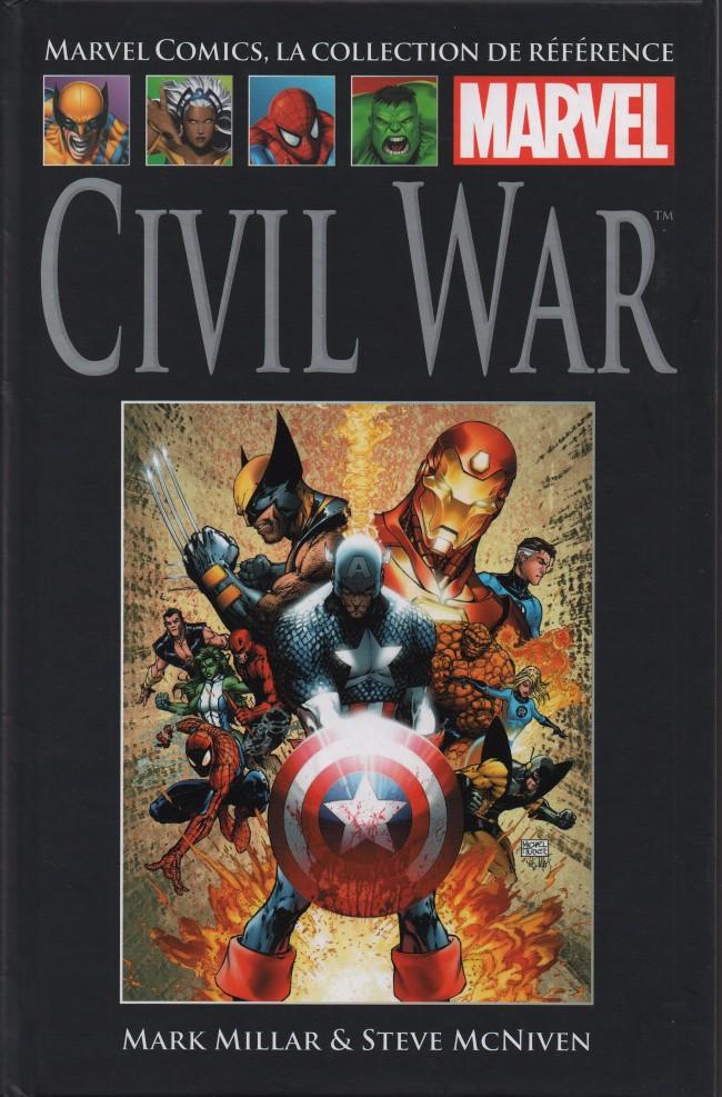 Marvel Comics, la collection de référence T49 : Civil War (0), comics chez Hachette de Millar, McNiven, Hollowell