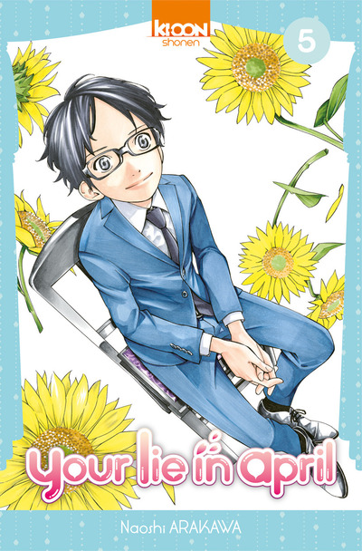 Your lie in april  T5, manga chez Ki-oon de Arakawa