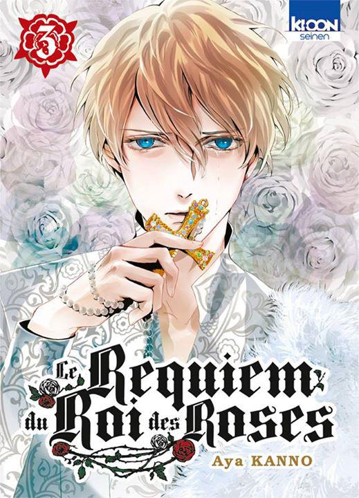 Le Requiem du roi des roses  T3, manga chez Ki-oon de Kanno