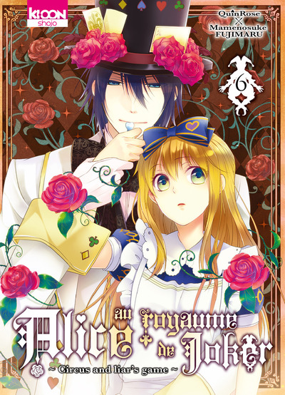 Alice au royaume de joker T6, manga chez Ki-oon de Quinrose, Fujimaru