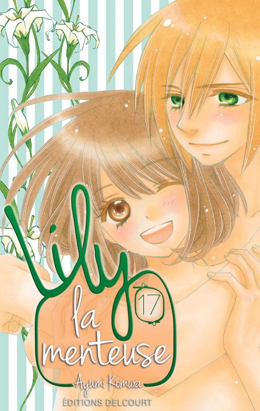 Lily la menteuse T17, manga chez Delcourt de Komura