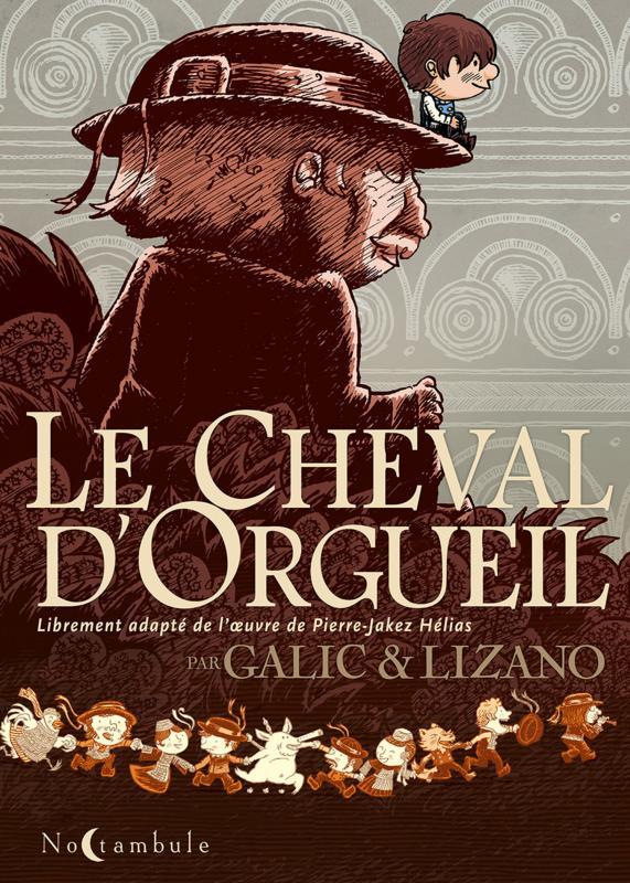 Cheval d'orgueil, bd chez Soleil de Galic, Lizano