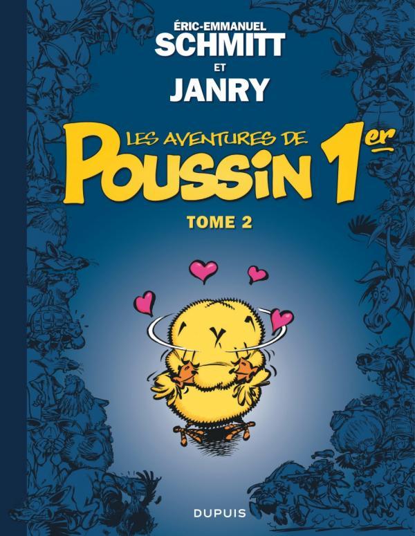 Les Aventures de Poussin 1er T2 : Les apparences sont trompeuses (0), bd chez Dupuis de Schmitt, Janry, Cerise