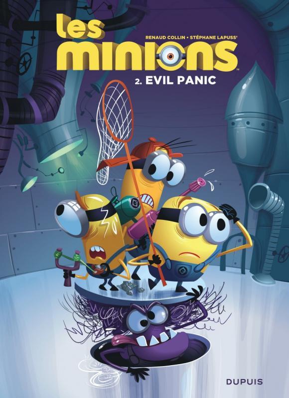 Les Minions T2 : Evil Panic (0), bd chez Dupuis de Lapuss', Collin
