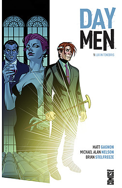 Day Men T1 : Lux in tenebris (0), comics chez Glénat de Gagnon, Nelson, Stelfreeze, Moore