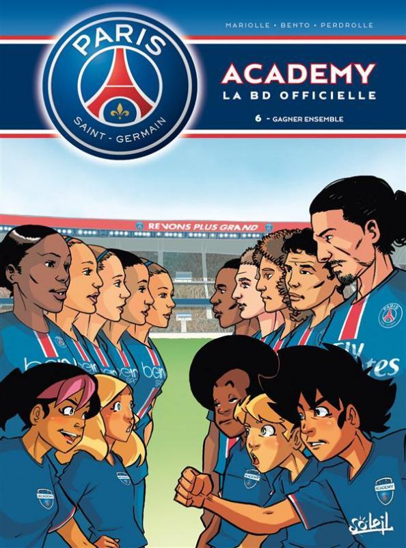 PSG academy T6 : Gagner ensemble (0), bd chez Soleil de Mariolle, Bento, Perdrolle