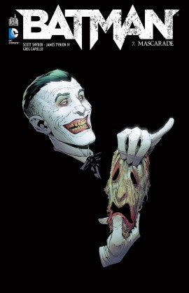 Batman – New 52, T7 : Mascarade (0), comics chez Urban Comics de Snyder, Tynion IV, Capullo, Nguyen, Nolan, McCrea, Jones, Antonio, Kieth, Wright, McCaig, Pattison, FCO Plascencia, Filardi, Madsen