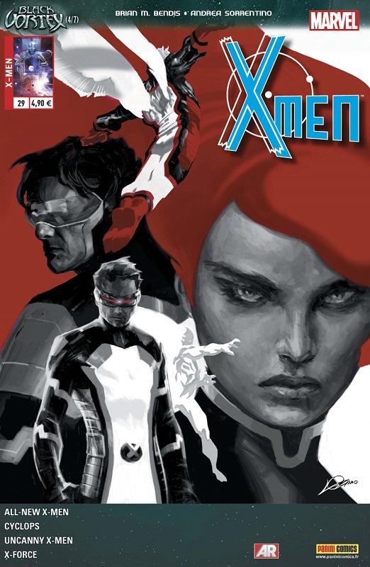 X-Men (revue) – V 4, T29 : Le Vortex Noir (4/6) (0), comics chez Panini Comics de Layman, Bendis, Spurrier, Garron, Kim, Anka, Villarrubia, Fabela, Sotomayor, Maiolo, Sorrentino