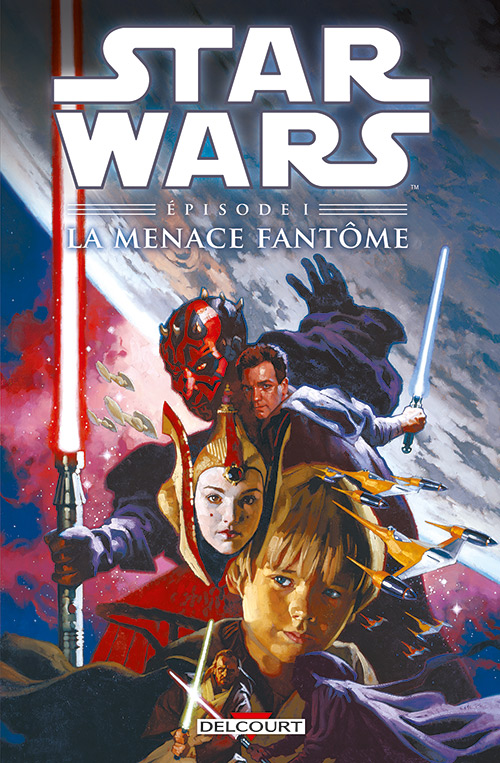 Star Wars Episodes T1 : La menace fantôme (0), comics chez Delcourt de Gilroy, Dammagio, David, Ravenwood