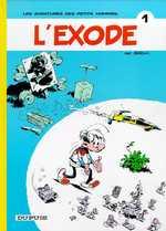 Les petits hommes T1 : L'exode (0), bd chez Dupuis de Desprechins, Seron