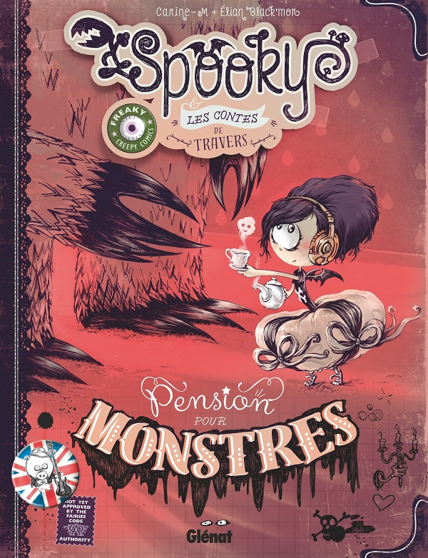 Spooky & les contes de travers : Pension pour monstres (0), bd chez Glénat de M., Black'Mor