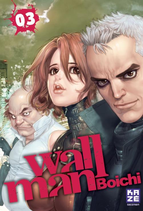 Wallman T3, manga chez Kazé manga de Boichi