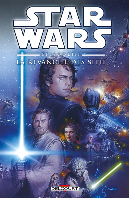Star Wars Episodes T3 : La revanche des Sith (0), comics chez Delcourt de Lane, Wheatley, Chuckry, Ravenwood
