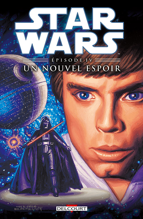 Star Wars Episodes T4 : Un nouvel espoir (0), comics chez Delcourt de Jones, Barreto, Williamson, Sinclair, Chuckry, Hildebrandt, Hildebrandt