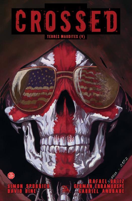 Crossed - Terres maudites T5 : Dégonflés / Gore Angels / Le grand Yin (0), comics chez Panini Comics de Hine, Spurrier, Ortiz, Andrade Jr, Erramouspe, Digikore studio