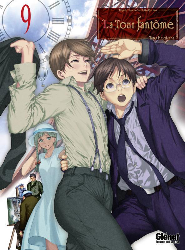La tour fantôme T9, manga chez Glénat de Nogizaka