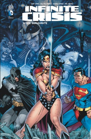Infinite Crisis T4 : Les survivants (0), comics chez Urban Comics de Johns, Wolfman, Willingham, Lanning, Reis, Palmiotti, Justiniano, Jimenez, Perez, Conner, Jurgens, Mounts, Major, Cox, Lee