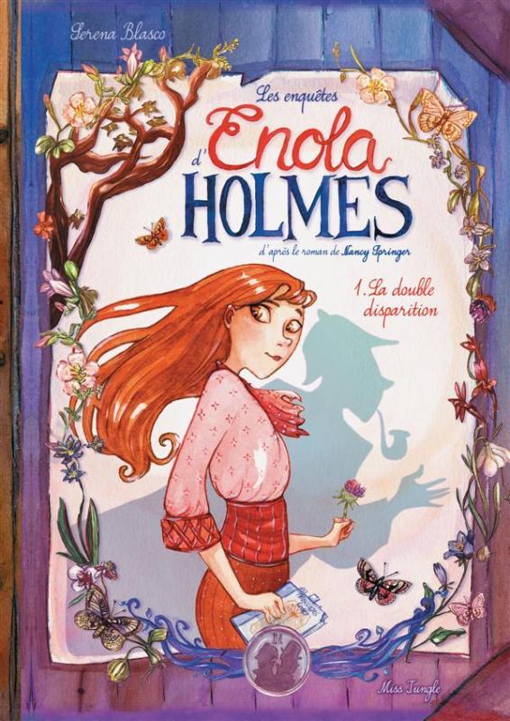 Les enquêtes d'Enola Holmes T1, bd chez Jungle de Blasco
