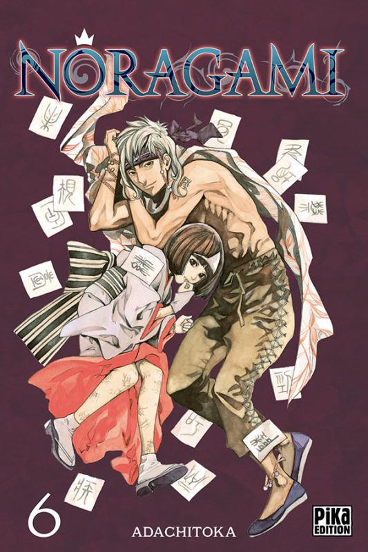 Noragami T6, manga chez Pika de Adachi