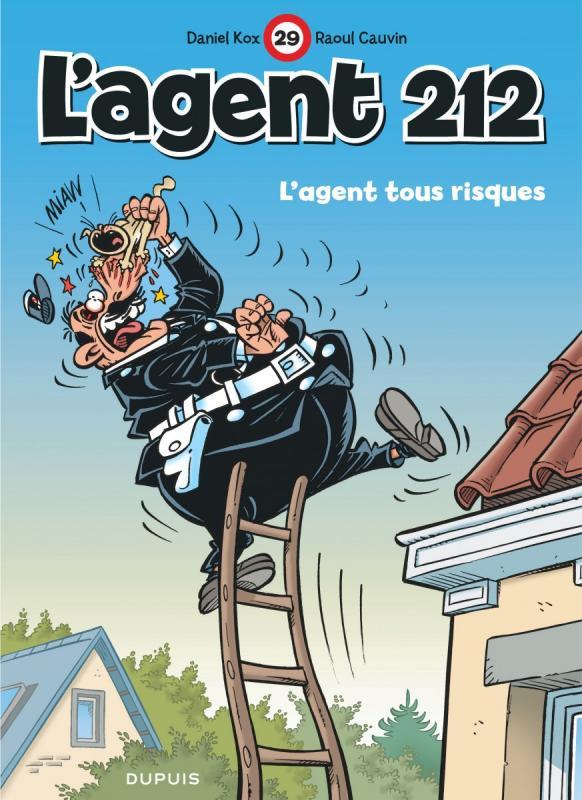 L'agent 212 T29 : L'agent tous risques (0), bd chez Dupuis de Cauvin, Kox, Carpentier