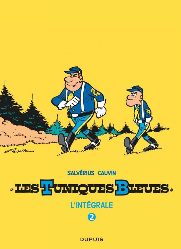 Les Tuniques bleues T2 : Tomes 3-4-10, bd chez Dupuis de Cauvin, Salvérius