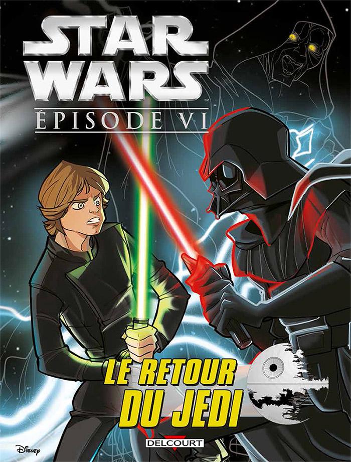 Star Wars Episode VI : Le retour du Jedi (0), comics chez Delcourt de Ferrari, Attardi, Chue, Piana, Ghiglione, Santillo, Kawaï Creative Studios, Turotti