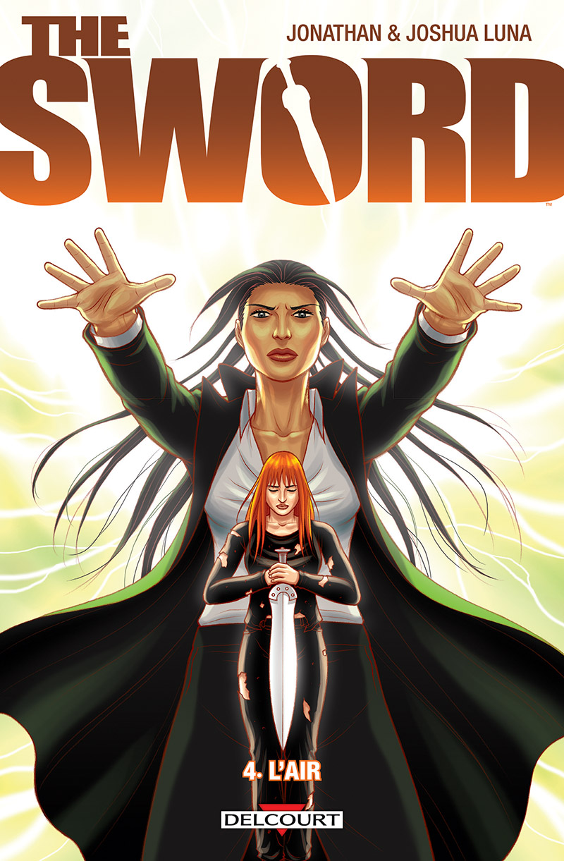 The Sword T4 : L'air (0), comics chez Delcourt de Luna, Luna