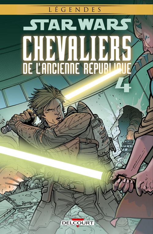 Star Wars - Chevaliers de l'ancienne République T4 : L'invasion de Taris (0), comics chez Delcourt de Jackson Miller, Dazo, Weaver, Atiyeh, Wilson
