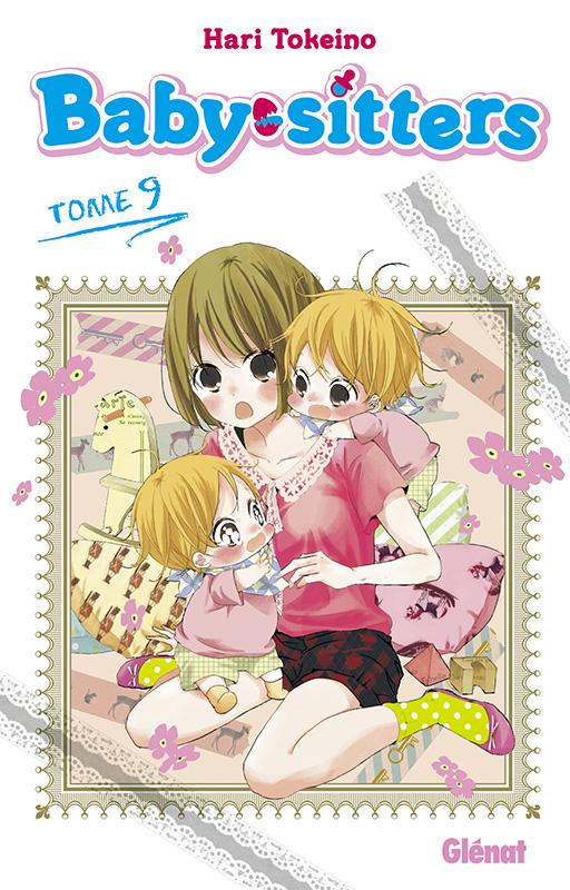 Baby sitters T9, manga chez Glénat de Tokeino