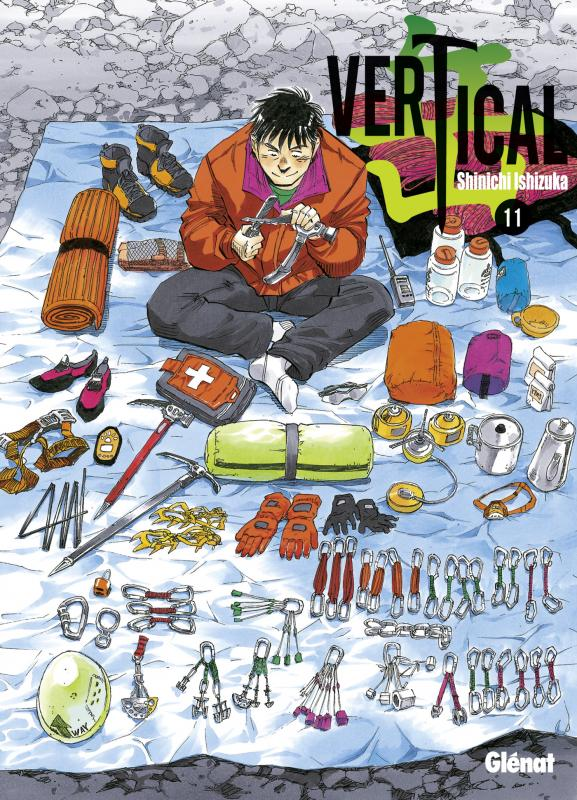 Vertical T11, manga chez Glénat de Ishizuka