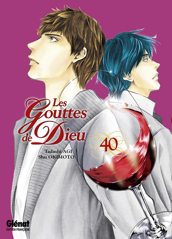 Les gouttes de Dieu T40, manga chez Glénat de Agi, Okimoto
