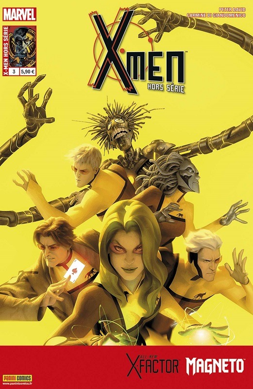 X-Men (revue) T3 : Un jeu d'ombres (0), comics chez Panini Comics de David, Bunn, Di Giandomenico, Hernandez Walta, Sliney, Loughridge, Bellaire, Garner