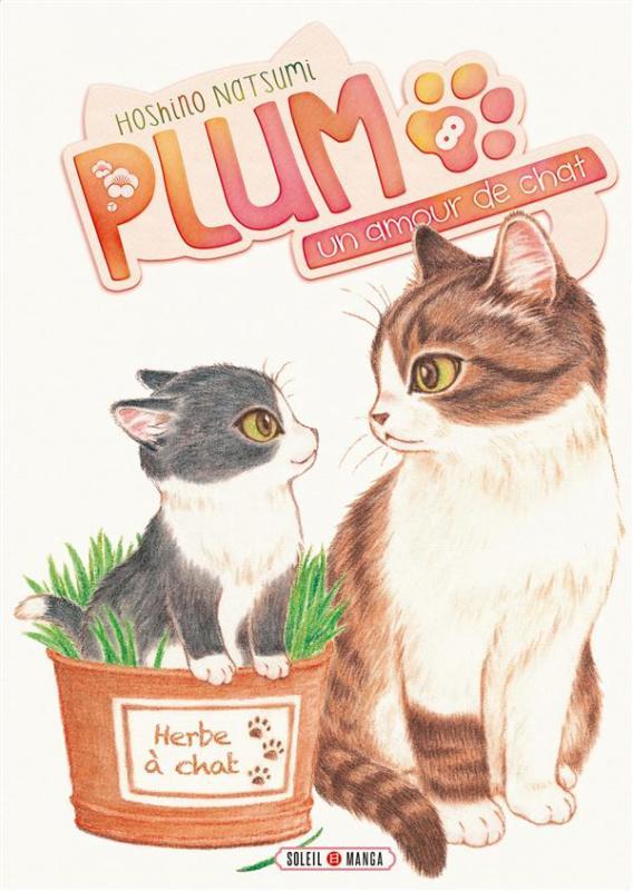 Plum, un amour de chat  T8, manga chez Soleil de Hoshino