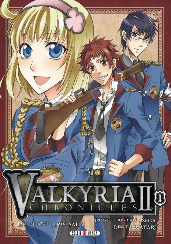 Valkyria chronicles II T1, manga chez Soleil de Watari
