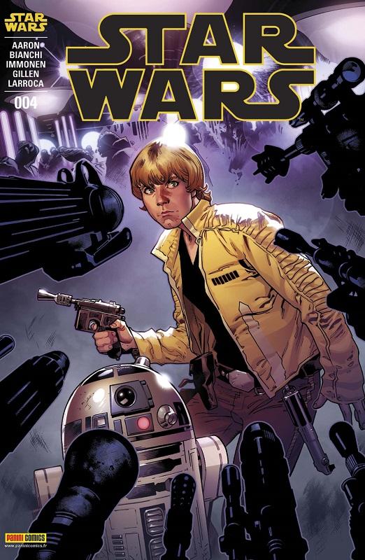 Star Wars (revue Marvel) V1 – V 1, T4 : Le dernier de ses semblables (0), comics chez Panini Comics de Aaron, Gillen, Larroca, Bianchi, Immonen, Delgado, Ponsor