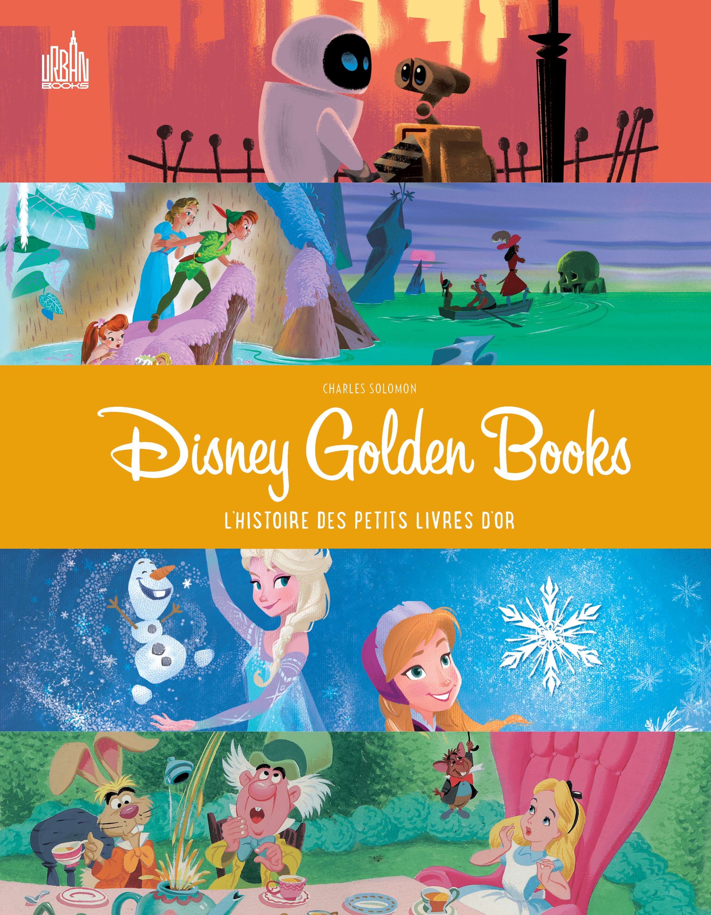 Disney Golden Books, comics chez Urban Comics de Solomon, Collectif