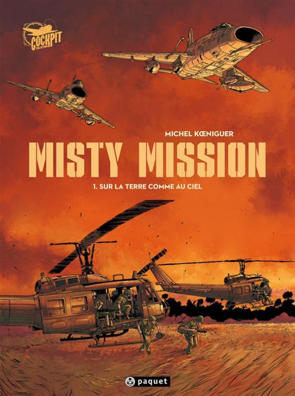 Misty Mission T1 : Sur la terre comme au ciel (0), bd chez Paquet de Koeniguer
