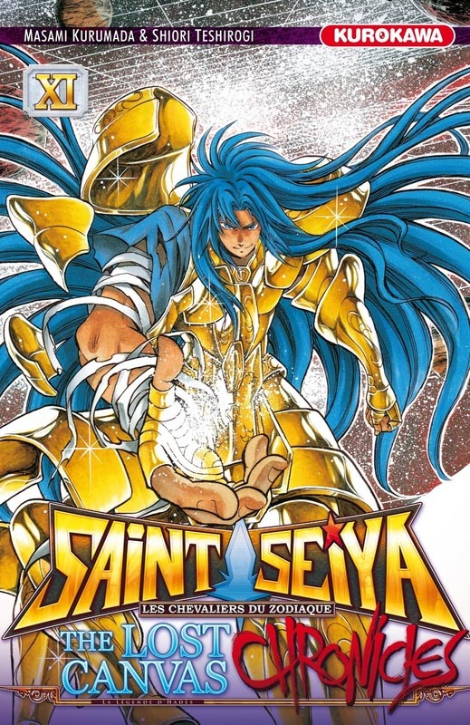Saint Seiya - The lost canvas chronicles  T11, manga chez Kurokawa de Teshirogi, Kurumada